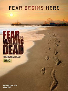 Fear The Walking Dead poster tin sign Wall Art