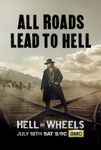 Hell On Wheels Mini poster 11inx17in