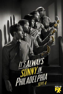 its always sunny in philadelphia poster tin sign Wall Art