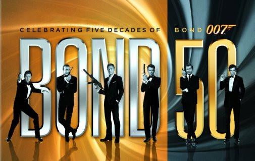 James Bond 50Th Anniversary Movie Poster 24inx36in Poster 24x36 - Fame Collectibles