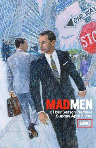 mad men poster tin sign Wall Art