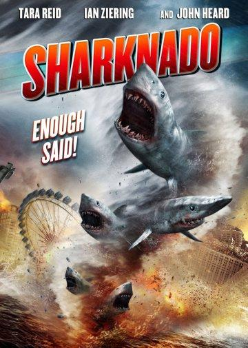 Sharknado movie poster Sign 8in x 12in