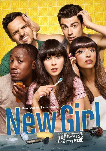 New Girl 11inx17in Mini Poster