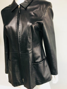 Gerry Webber leather jacket - Vanity's Vault