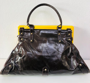 Fendi Tabacco Leather Shoulder Bag - Vanity's Vault