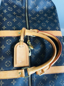 Louis Vuitton Monogram Keepall with ID Tag - Vanity's Vault