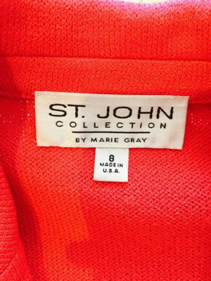 ST.JOHN Knit Sweater Jacket