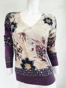 ETRO Multi Color Floral Top - Vanity's Vault