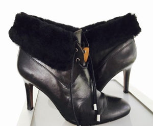 Coach Black Booties - Vanity's Vault