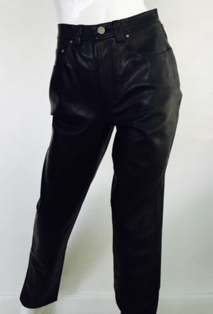 Versace Jeans Couture Leather Pants