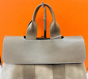 HERMÈS Garden Party Cloth Handbag - Vanity's Vault