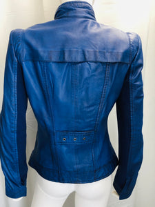 Yaya Leather Jacket - Vanity's Vault