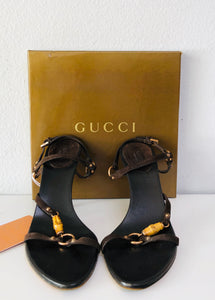 Gucci Bamboo Sandal - Vanity's Vault