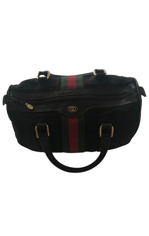 GUCCI  Boston Black Bag