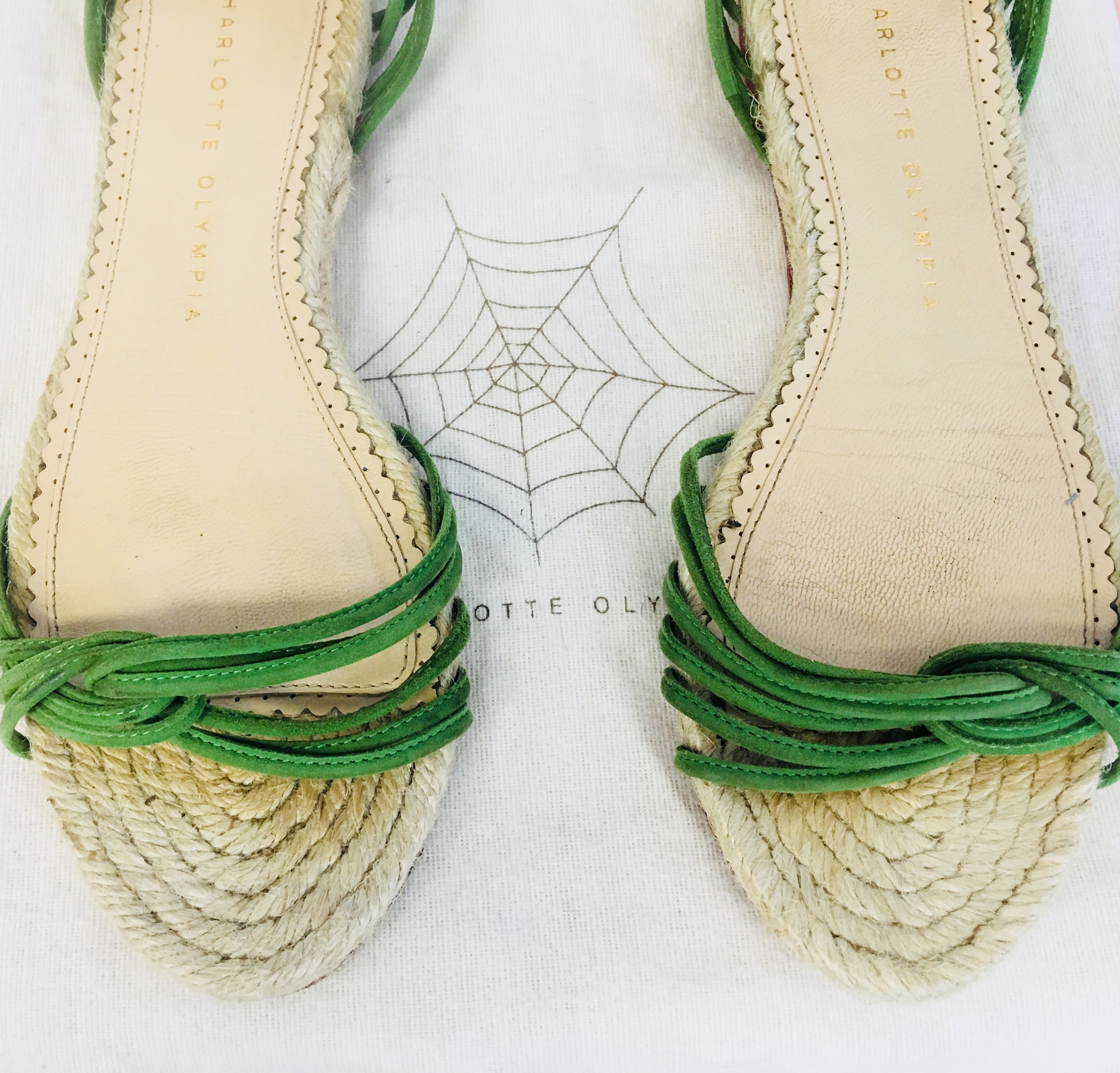 Charlotte Olympia Sandals with banana 🍌 tassels - Vanity's Vault