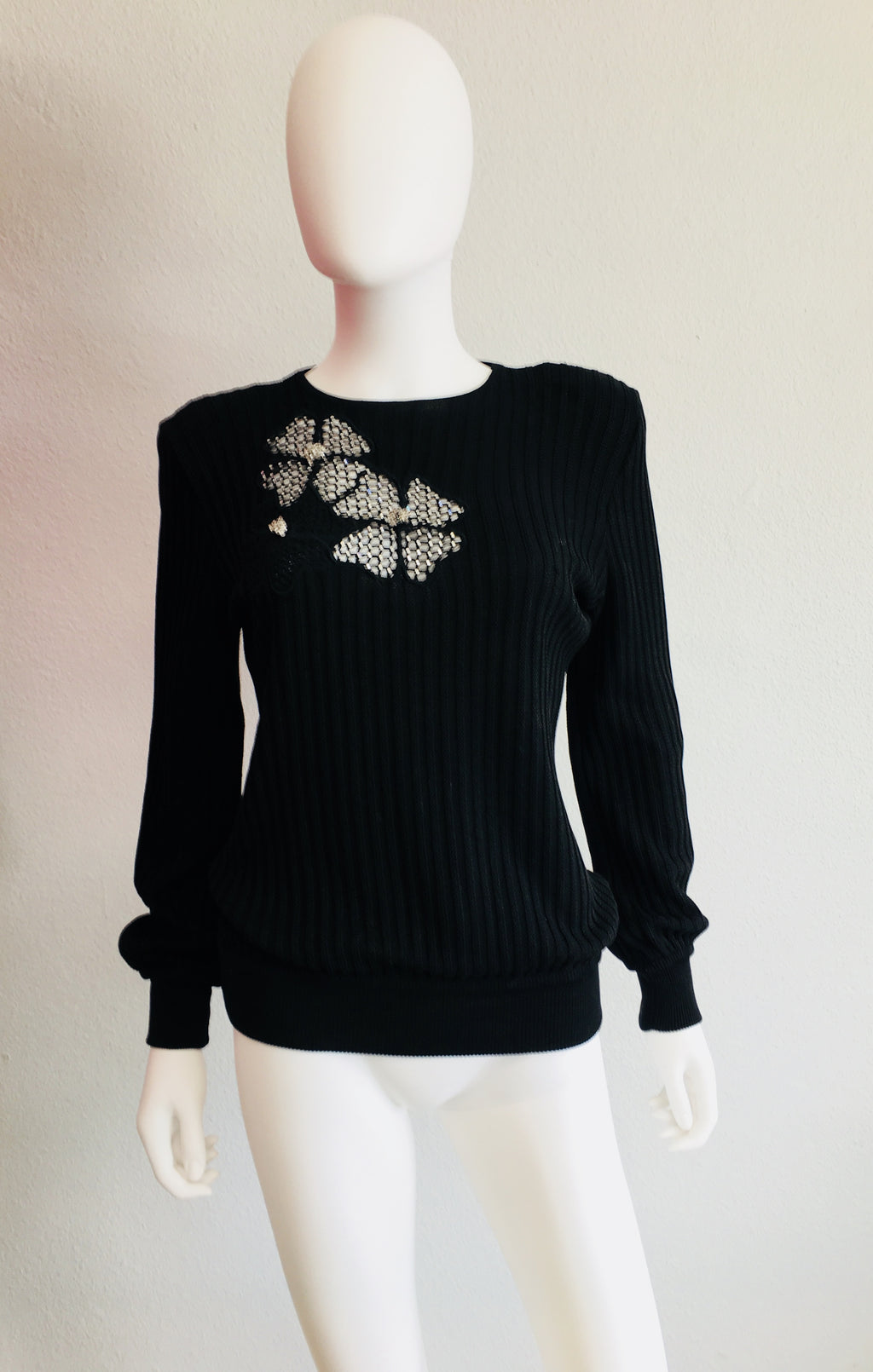 Valentino Black Sweater