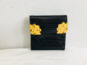 Ann Turk and gold wallet