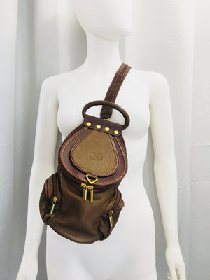 VA Khaki backpack/body bag