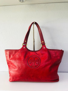 Tory Burch Leather Handbag - Vanity's Vault
