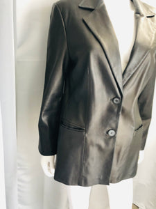 Real Clothes Leather Coat - Vanity's Vault