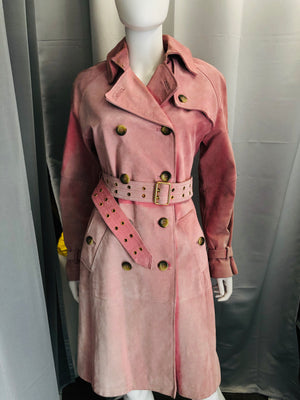 Venus Suede Trench Coat