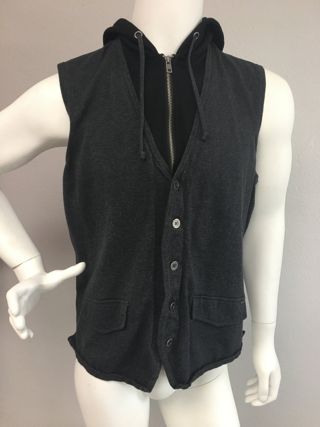 Guess sleeveless jacket - Vanity's Vault
