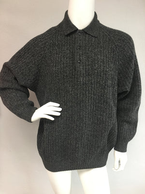Grey Wool Sweater by Gucci