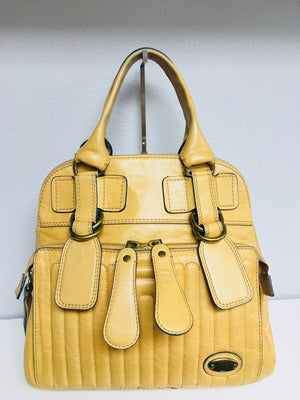 Authentic Chloe Leather Handbag