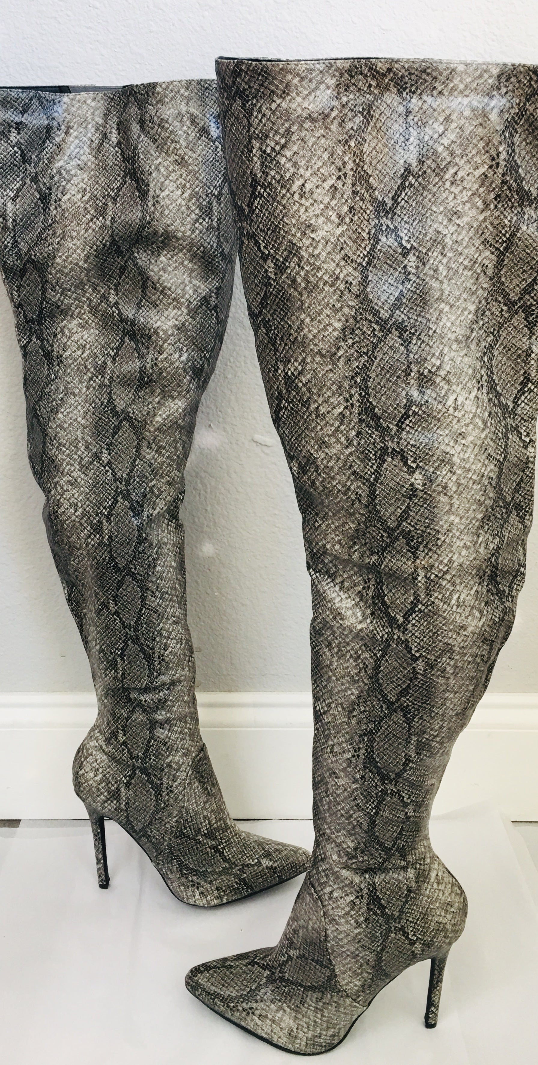Mark and Muddux Thigh High Boots - Vanity's Vault