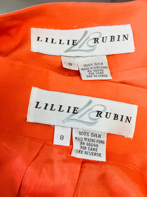 lillie rubin jacket and skirt