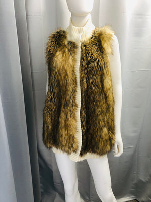 Micheal Kors Faux Fur Coat