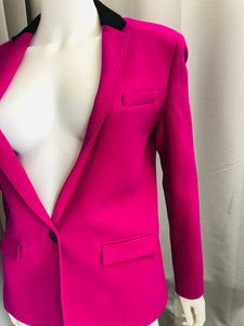 Costume national Magenta Jacket - Vanity's Vault