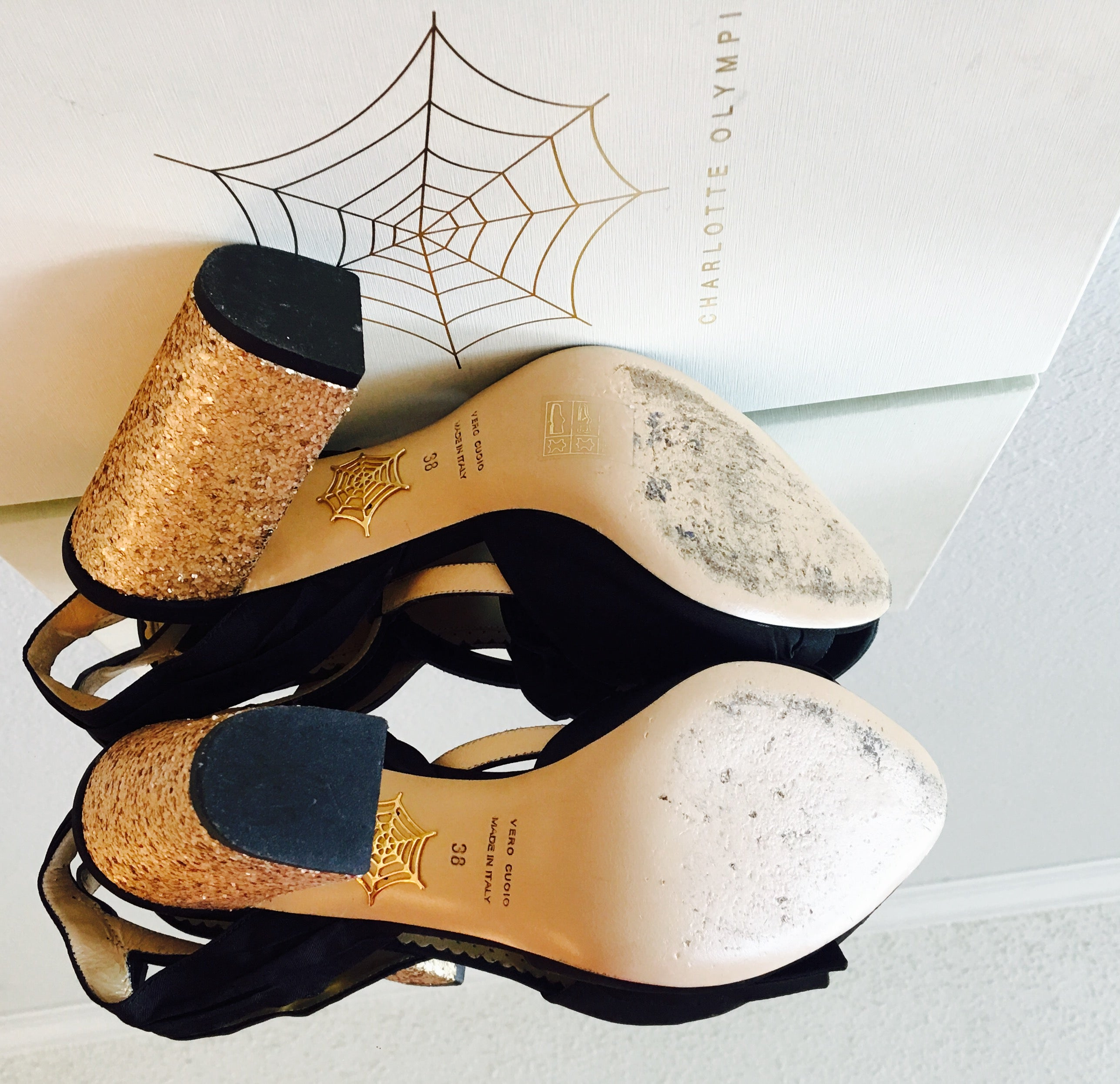 Charlotte Olympia Odelle Sandals - Vanity's Vault