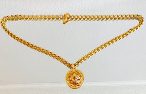 Lanvin Gold Chain Belt