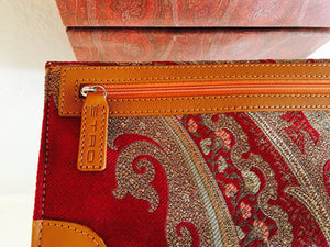 ETRO Leather Trim Pouch