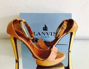 LANVIN Leather Heels