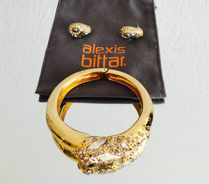 Alexis Bittar Bracelet and Earrings Set
