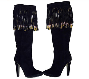 Jimmy Choo Bill Fringe Boots