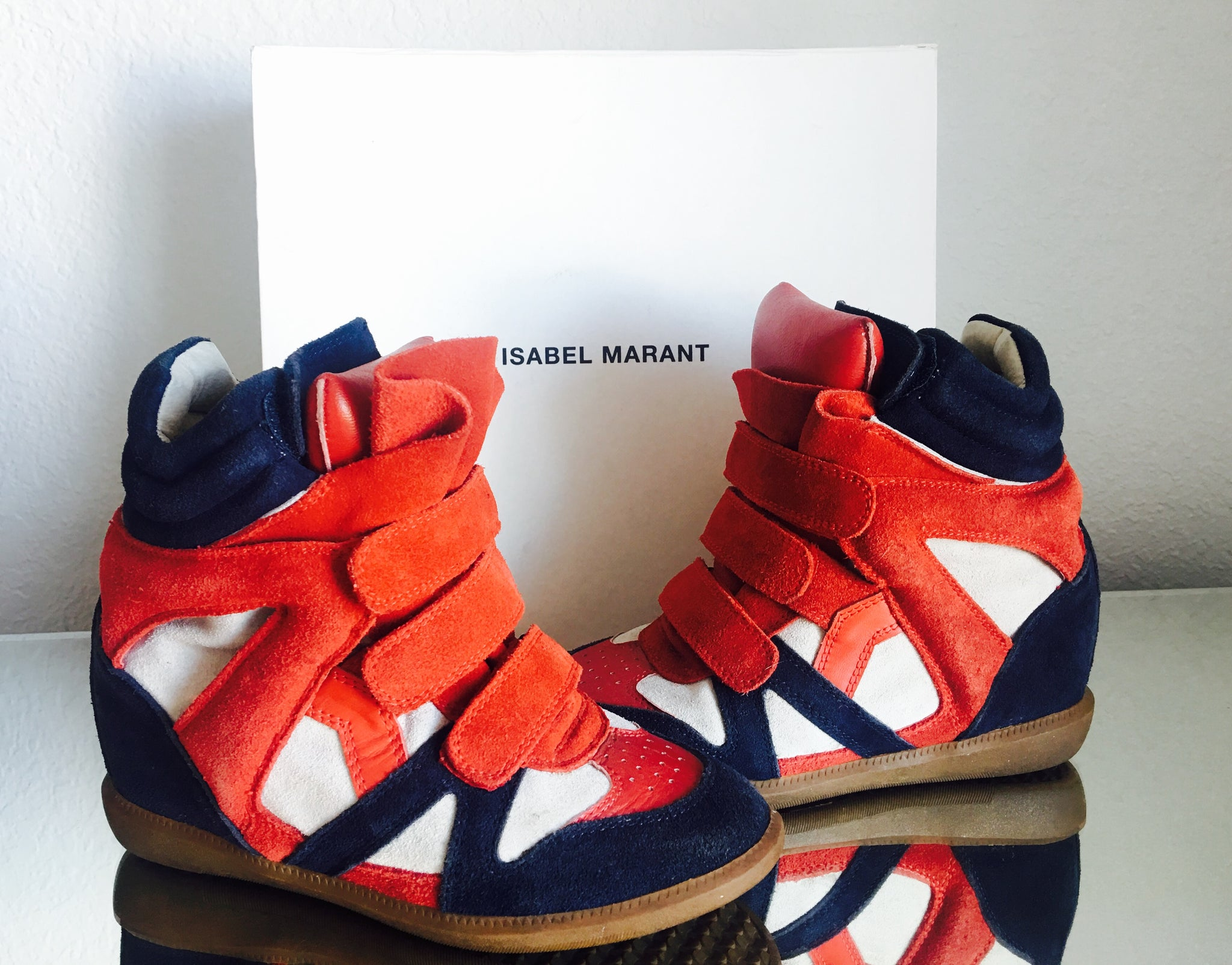 ISABEL MARANT BEKETT WEDGE SNEAKERS