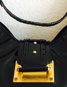 Oscar de la renta Patent Leather Bag - Vanity's Vault