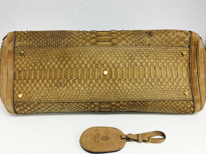 Gucci Nude Python 🐍 Running Tote Bag