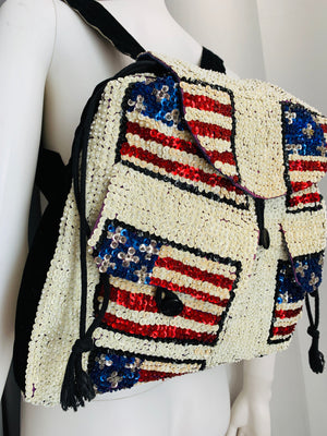 Beaded backpack - Vanity's Vault