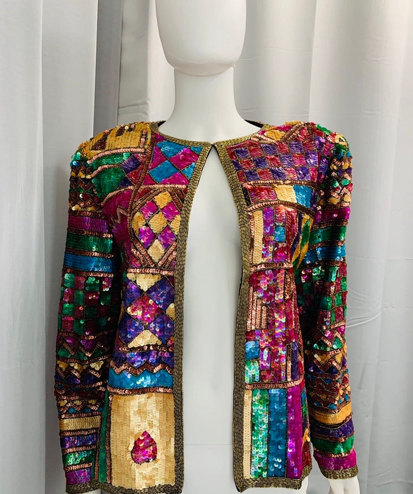 Caché Sequin Jacket