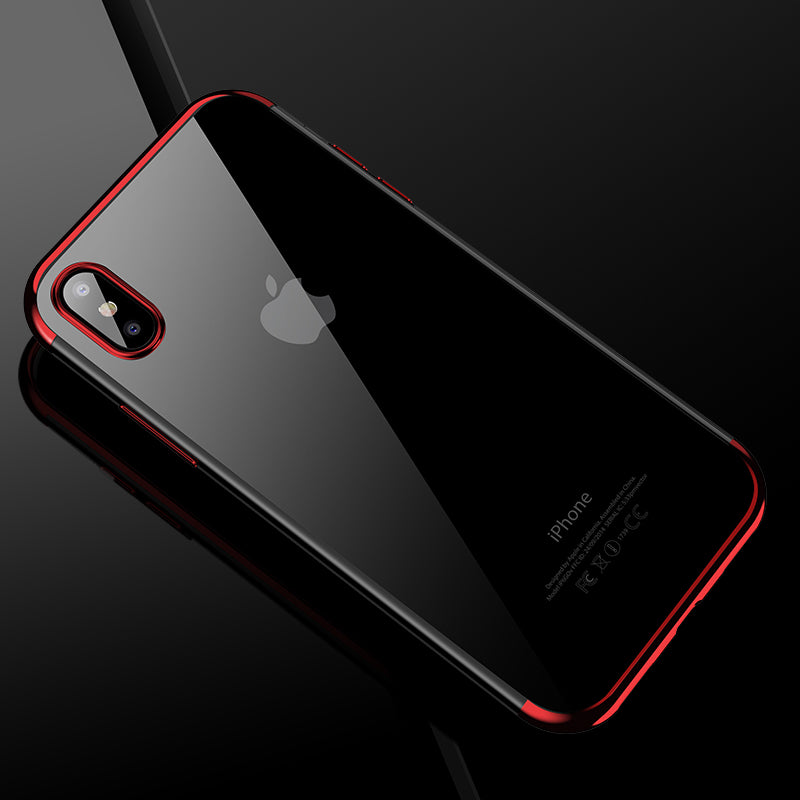 info for 70eec e60a5 Ultra Thin Transparent Silicon iPhone X Case