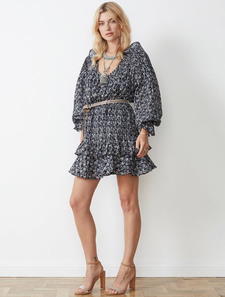 STEVIE MAY - ACACIA L/S MINI DRESS