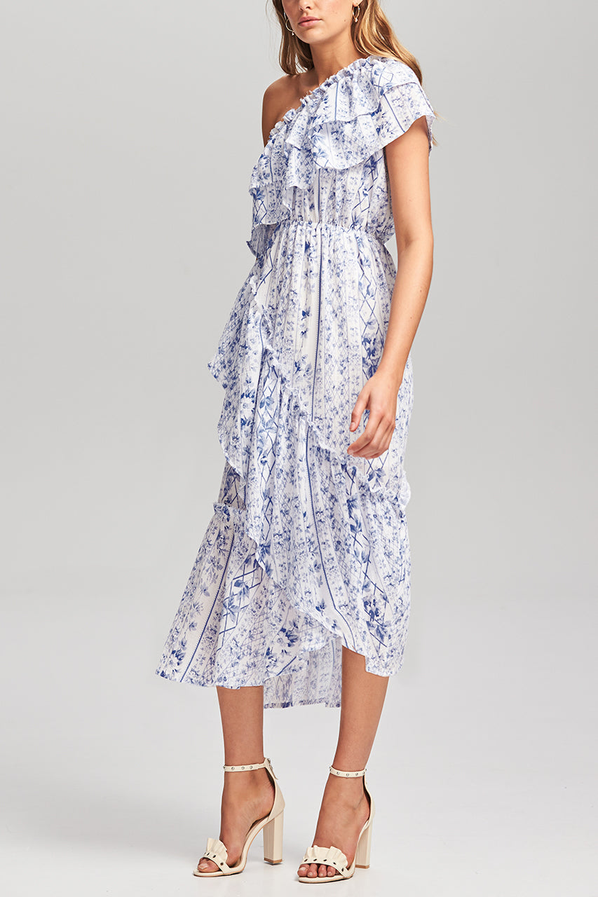 STEELE - RIVIERA RUFFLE DRESS