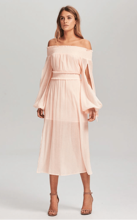 STEELE - MARGOT OFF SHOULDER DRESS
