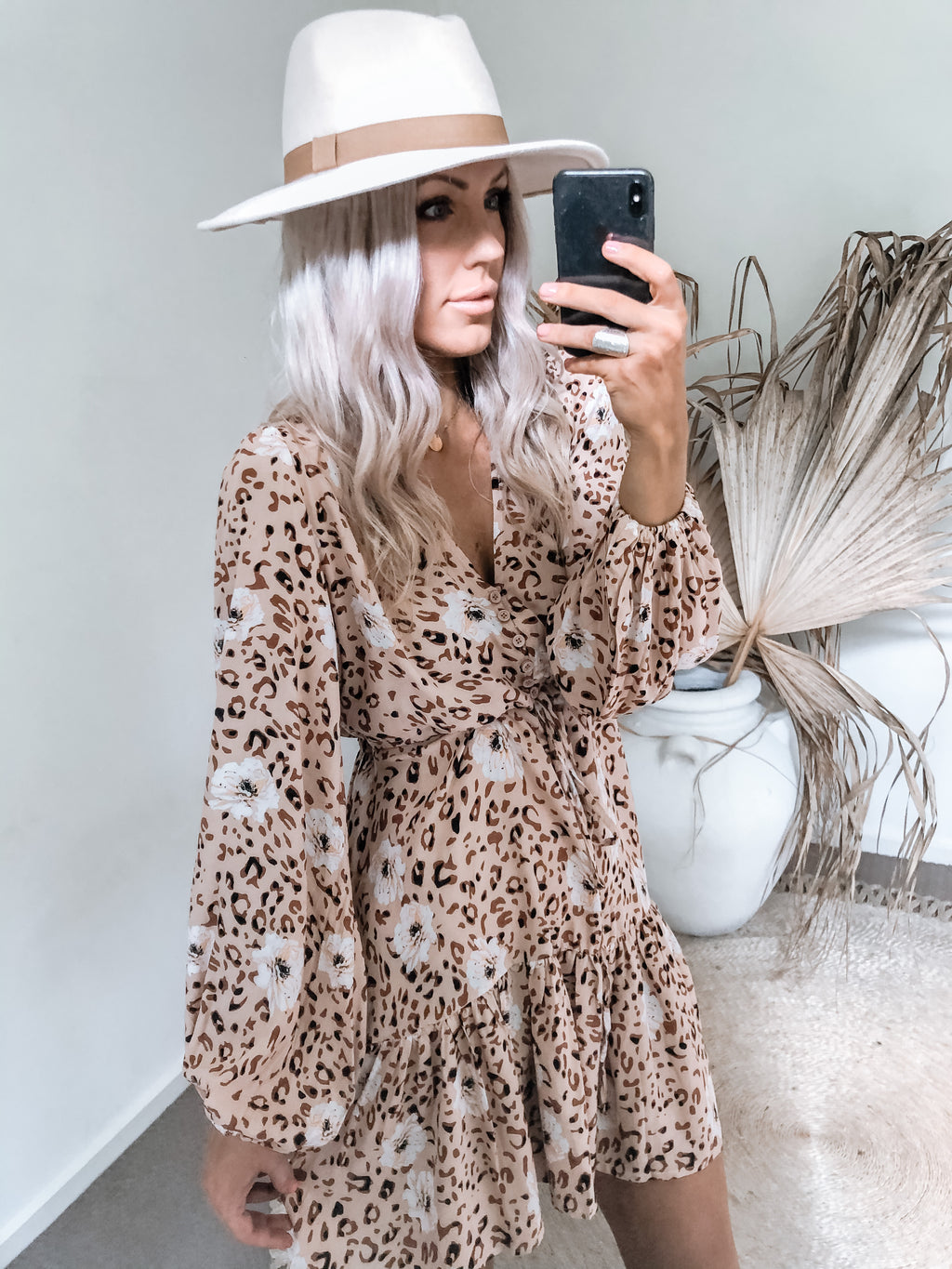 Loulou Dress - Leopard
