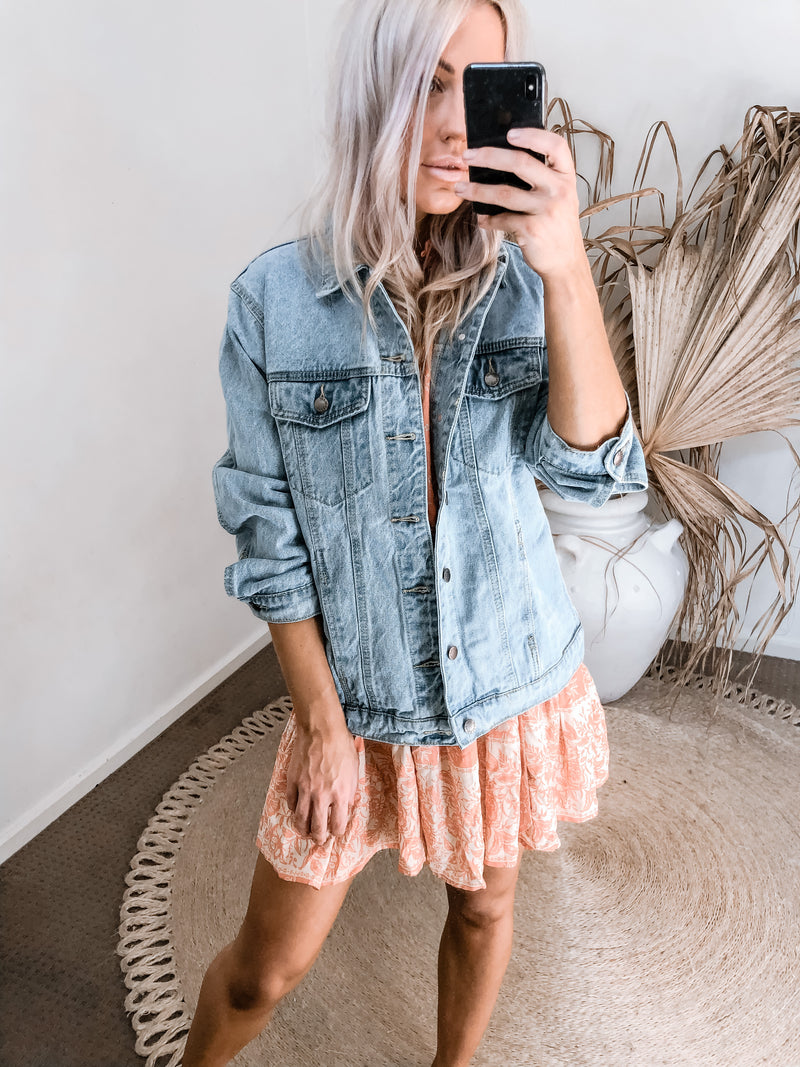 Hannah Denim Jacket
