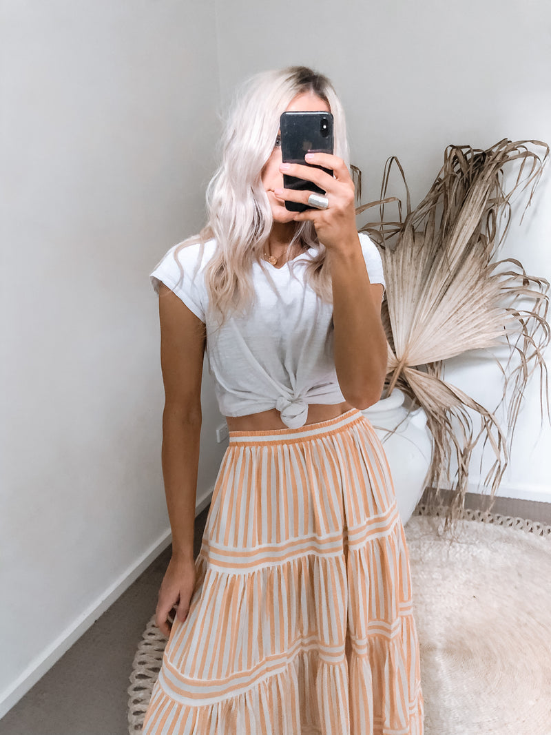 Zola Skirt - Stripe